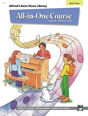 Alfred's Basic  Piano Library All-in-One Course By Lethco, Amanda Vick